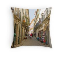 Inside of Valença Throw Pillow