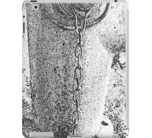 Fire Hydrant 3 Black and White iPad Case/Skin