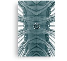 Looking up at the royal courts Canvas Print