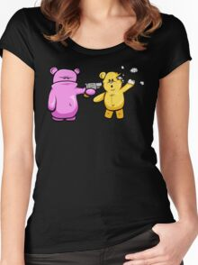 Drop Dead Ted Women's Fitted Scoop T-Shirt