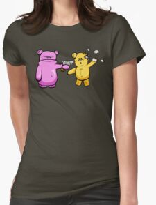 Drop Dead Ted Womens Fitted T-Shirt