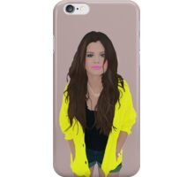 Selena Gomez Cartoon iPhone Case/Skin