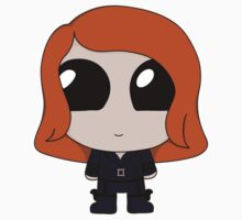 Chibi Black Widow Kids Clothes