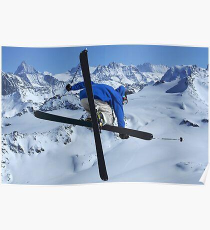 High mountains high jump Poster