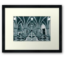 Royal courts of justice Framed Print