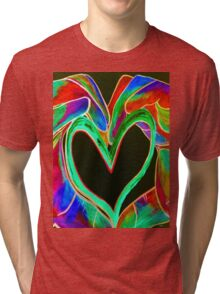 Universal Sign for LOVE Tri-blend T-Shirt