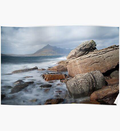 Gars-bheinn from Elgol  / Loch Slapin Poster