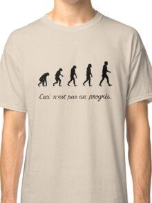 99 Steps of Progress - Surrealism Classic T-Shirt