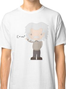 Excuse Me While I Science: Albert Einstein - E=mc² Equation Classic T-Shirt