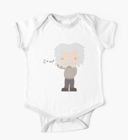 Excuse Me While I Science: Albert Einstein - E=mc² Equation One Piece - Short Sleeve