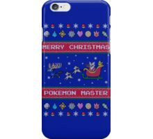 Pokemon Christmas  iPhone Case/Skin