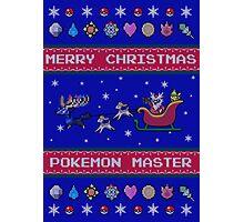 Pokemon Christmas  Photographic Print