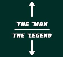 The Man. The Legend by Elowrey