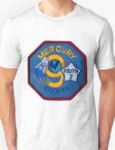 Mercury-Atlas 9 (Faith 7) Misson Logo T-Shirt