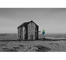 Dungeness umbrella Photographic Print