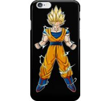 Goku SSJ2 iPod Touch and iPhone Case iPhone Case/Skin