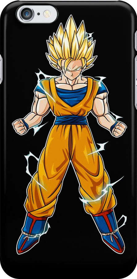 Goku SSJ2 iPod Touch and iPhone Case by ThiamondKing