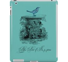 Blue Bird of Happiness iPad Case/Skin