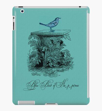 Blue Bird of Happiness iPad Case/Skin