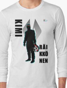 KR - Icon, Black Long Sleeve T-Shirt