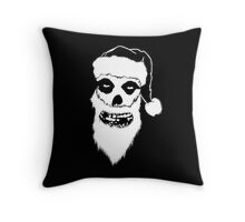 A Misfits Christmas Throw Pillow