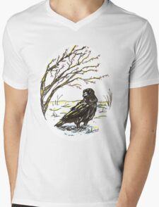 The Coming of Winter Mens V-Neck T-Shirt
