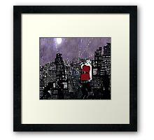 Santa in the Civil War   Framed Print