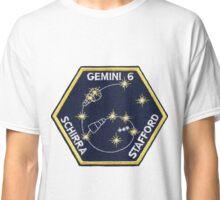 Gemini 6A Mission Logo Classic T-Shirt