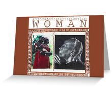Honoring The African American Woman♥ Greeting Card