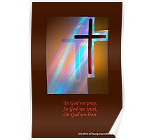 The Amazing Shining Cross Poster