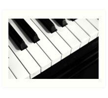The Keyboard Art Print