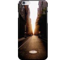 Good Morning New York! iPhone Case/Skin