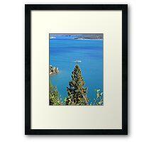 Lake of Beauty Framed Print