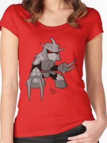 Chibi Shredder (4Kids) Women's Fitted Scoop T-Shirt