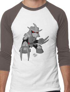 Chibi Shredder (4Kids) Men's Baseball ¾ T-Shirt