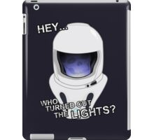 "Doctor Who - ""Hey Who Turned Out The Lights"" (Vashta Nerada) iPad Case/Skin"