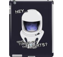 "Doctor Who - ""Hey Who Turned Out The Lights"" (Vashta Nerada) iPad Case/Skin"