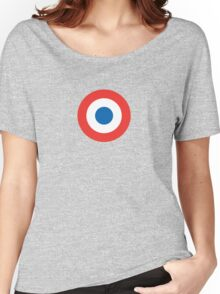 French Insignia Graphic Women's Relaxed Fit T-Shirt