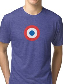 French Insignia Graphic Tri-blend T-Shirt