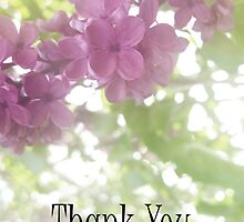 Lilac Thank You by AbigailJoy