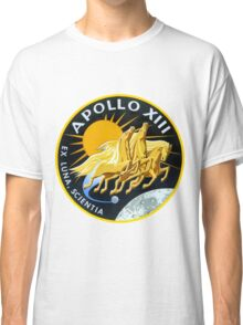 Apollo 13 Mission Logo Classic T-Shirt