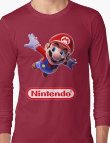 'Mario from Nintendo' Shirt Long Sleeve T-Shirt