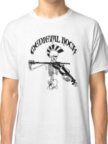 Knochengeiger / Skeleton Fiddler  – Medieval Rock (black print) Classic T-Shirt