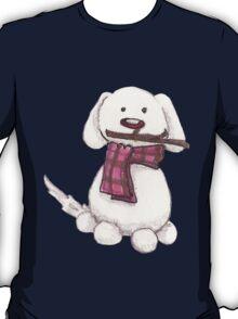 A snowman's best friend T-Shirt