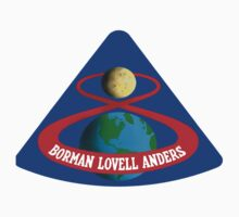 Apollo 8 (1st Lunar Mission) Logo by MGR Productions