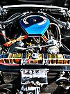 American Muscle Car Engine by htrdesigns