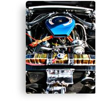American Muscle Car Engine Canvas Print