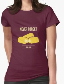 Twinkie - Never Forget Womens Fitted T-Shirt
