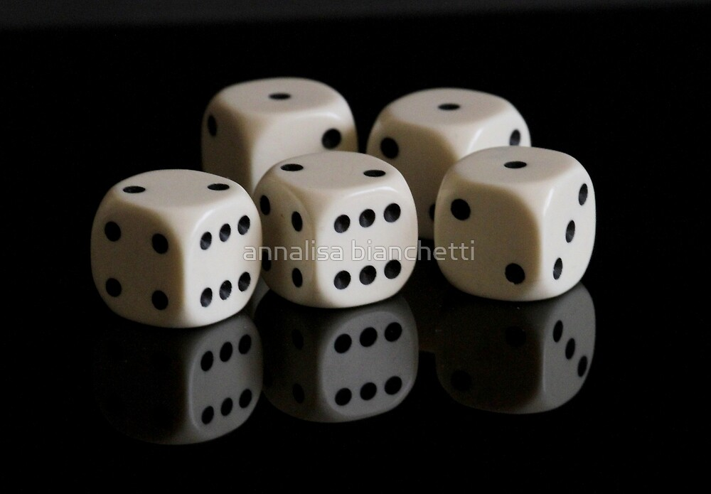 A game of dice? by annalisa bianchetti