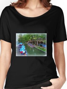 Patriotic Riverwalk Women's Relaxed Fit T-Shirt